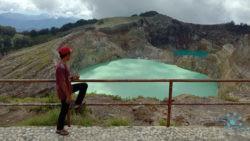 Kelimutu volcano, Flores Island
