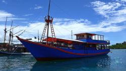 "Diving in Komodo, daytrips boat ""Santai"""