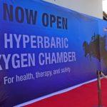 Hyperbaric chamber on Flores, Komodo National park
