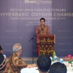 CEO Siloam Hospitals Labuan Bajo, Charles Wongsono
