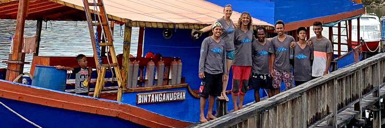 Wet Frog Divers Team