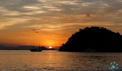 Komodo National park - sunset