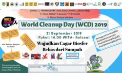 World Cleanup Day on 21st September 2019